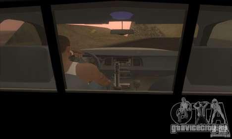 Ford Crown Victoria Police для GTA San Andreas вид справа