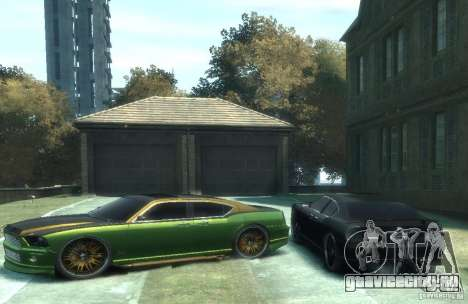 Civilian Buffalo DUB Edition v3.0 для GTA 4 вид слева