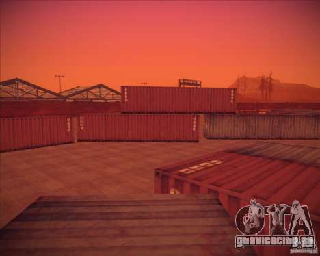 Portland для GTA San Andreas седьмой скриншот