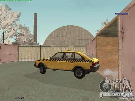 АЗЛК 2141 Москвич Такси v2 для GTA San Andreas салон