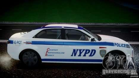 Carbon Motors E7 Concept Interceptor NYPD [ELS] для GTA 4