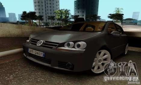 Volkswagen Golf 5 TDI для GTA San Andreas
