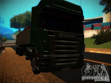 Scania R580 для GTA San Andreas вид сбоку