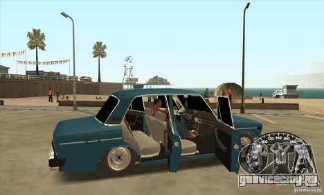 ВАЗ 2106 Light Tuning для GTA San Andreas вид слева