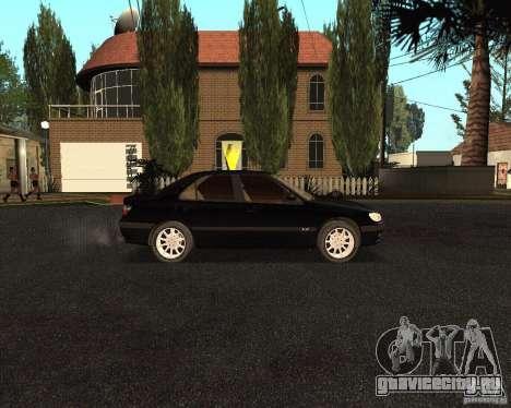 Peugeot 406 для GTA San Andreas вид сзади