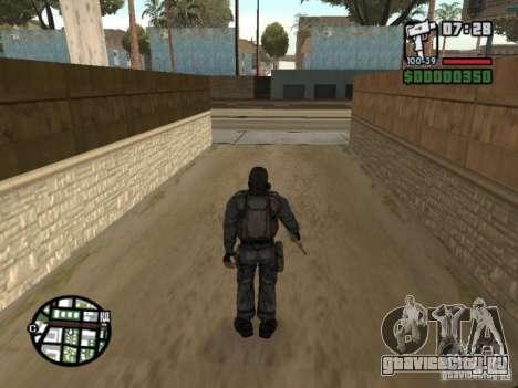 Сталкер наёмник в противогазе для GTA San Andreas третий скриншот