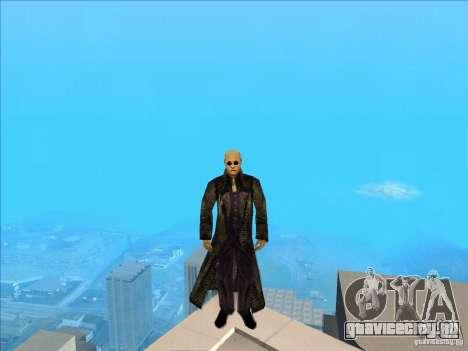 Matrix Skin Pack для GTA San Andreas пятый скриншот