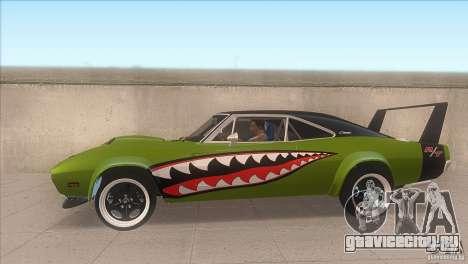 Dodge Charger RT SharkWide для GTA San Andreas вид слева