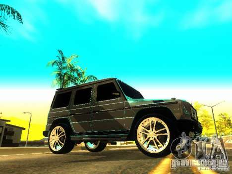 Mercedes-Benz G500 ART для GTA San Andreas вид слева