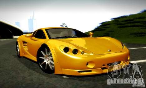 Ascari KZ1R Limited Edition для GTA San Andreas вид справа
