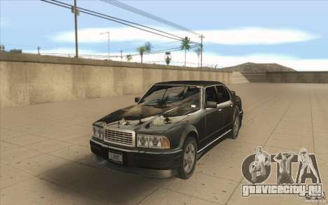 GTA3 HD Vehicles Tri-Pack III v.1.1 для GTA San Andreas вид справа