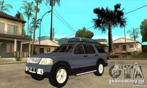 Ford Explorer 2004 для GTA San Andreas