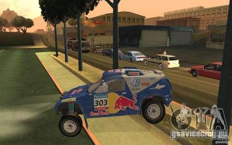 Volkswagen Race Touareg для GTA San Andreas вид слева