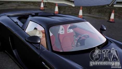 Porsche Carrera GT V1.1 [EPM] для GTA 4 вид сбоку