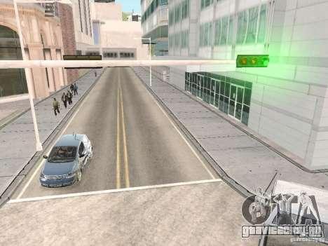 Volkswagen Fox 2011 для GTA San Andreas вид сзади