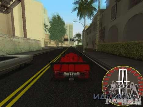 Новый спидометр Lincoln для GTA San Andreas третий скриншот