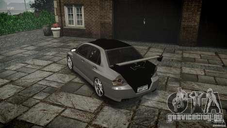 Mitsubishi Lancer Evolution VIII v1.0 для GTA 4 вид сбоку