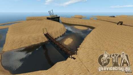 Пустыня Гоби для GTA 4 четвёртый скриншот