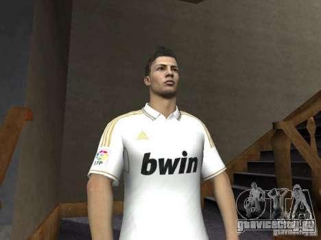 Cristiano Ronaldo для GTA San Andreas третий скриншот