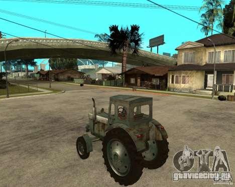 Трактор Т-40М для GTA San Andreas вид слева