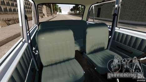 ВАЗ-2101 Resto для GTA 4 вид изнутри