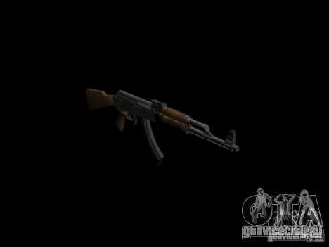 Оружие из GTA 4 для GTA San Andreas