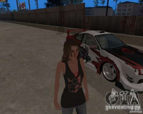 Tony Hawks Emily для GTA San Andreas четвёртый скриншот