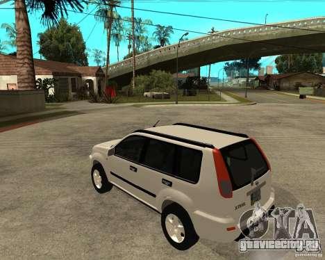 NISSAN X-TRAIL 2001 для GTA San Andreas вид слева