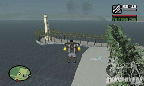 Райский пляж для GTA San Andreas третий скриншот