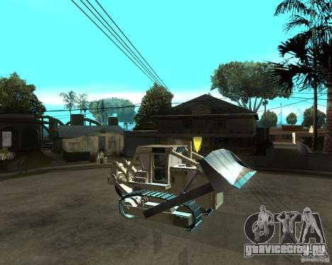 Komatsu D355A для GTA San Andreas вид справа