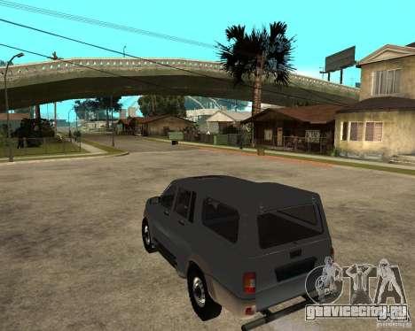 УАЗ Симбир Пикап для GTA San Andreas вид слева