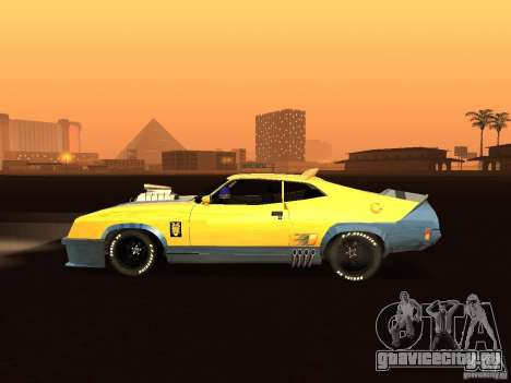 Ford Falcon XB Coupe Interceptor для GTA San Andreas вид слева