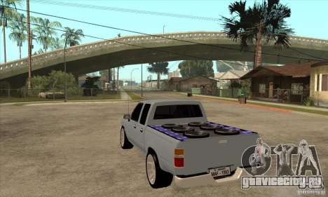 Toyota Hilux Surf v2.0 для GTA San Andreas вид сзади слева