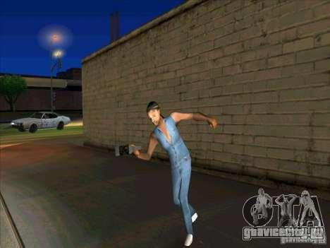 Разное поведение людей для GTA San Andreas третий скриншот