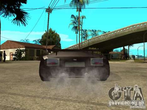 Buggati EB110 для GTA San Andreas вид сзади слева