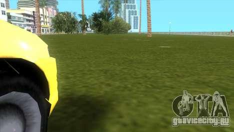 Seat Leon Cupra R для GTA Vice City вид сзади слева