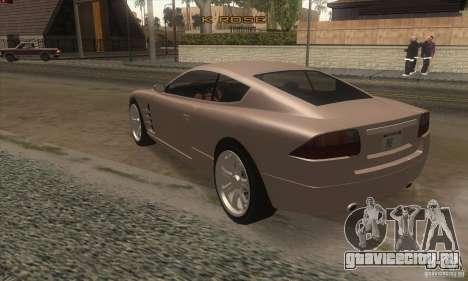 GTA IV F620 для GTA San Andreas вид сзади слева