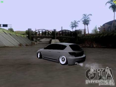 Mazda Speed 3 Stance для GTA San Andreas вид слева