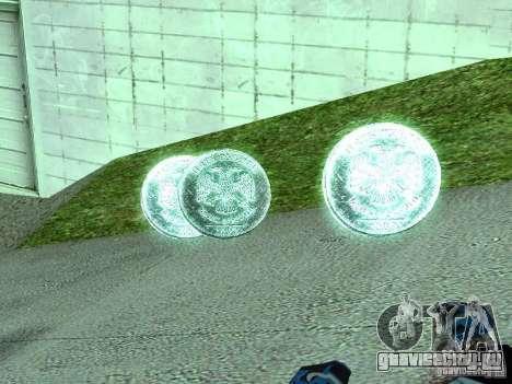 5-и Рублёвые монетки для GTA San Andreas второй скриншот