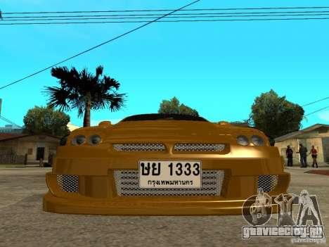 Mitsubishi 3000GT для GTA San Andreas вид справа