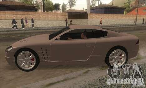 GTA IV F620 для GTA San Andreas вид слева