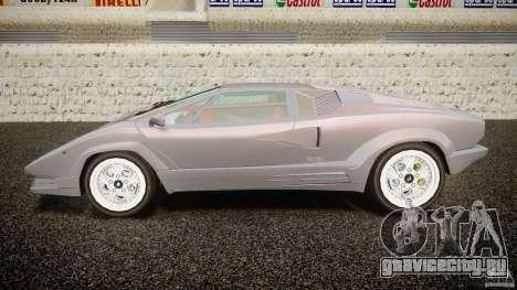 Lamborghini Countach для GTA 4 вид слева