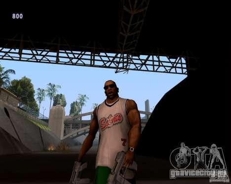 Гангстерская походка для GTA San Andreas второй скриншот