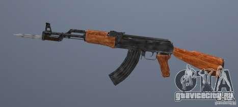 Ak 47 со Штыком для GTA San Andreas второй скриншот