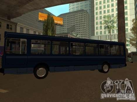 ЯАЗ 5267 для GTA San Andreas вид сзади слева