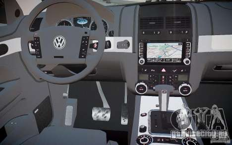 Volkswagen Touareg R50 для GTA 4 вид сверху