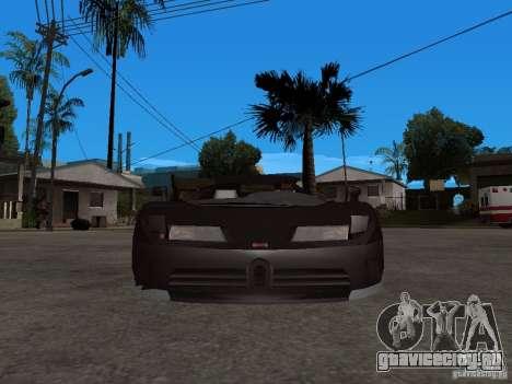 Buggati EB110 для GTA San Andreas вид справа
