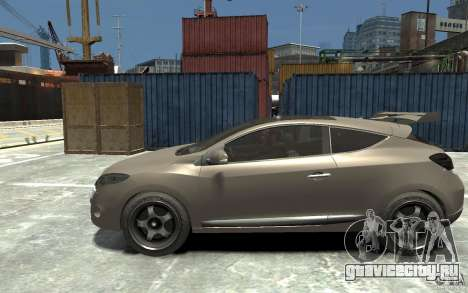 Renault Megane Coupe для GTA 4 вид слева