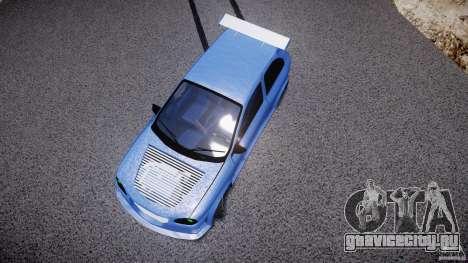 Chevrolet Corsa Extreme Revolution для GTA 4 вид снизу