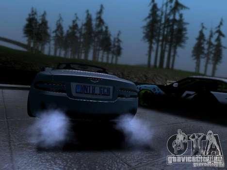 Aston Martin DB9 Volante 2006 для GTA San Andreas вид слева